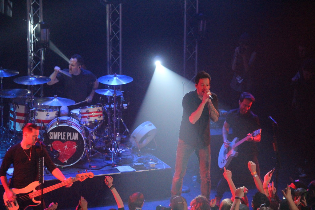 Blackburn Radio Simple Plan Concert 12