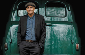 Publicity photo of James Taylor provided by Budweiser Gardens.