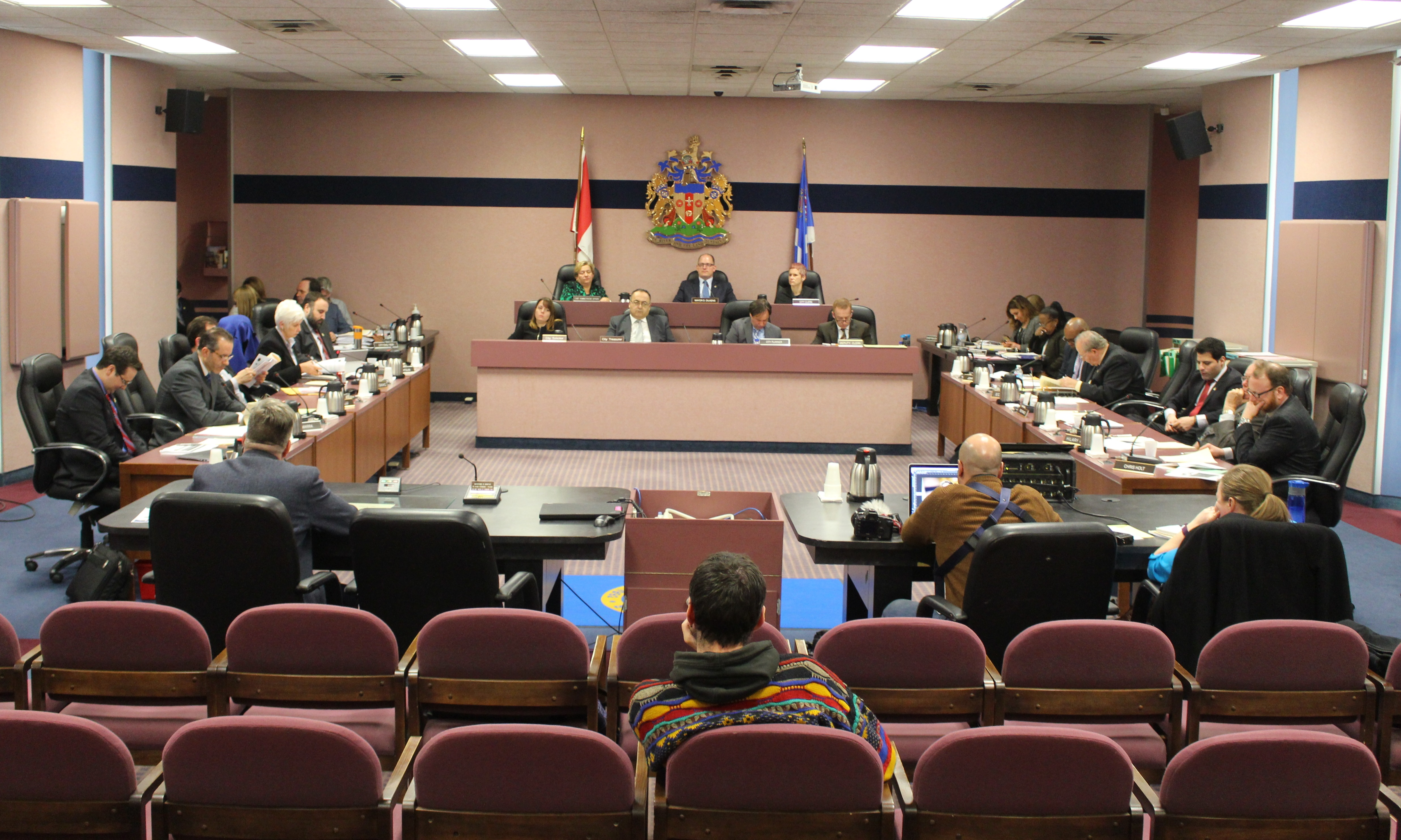 Windsor City Council meets February 22, 2016. (Photo by Maureen Revait)