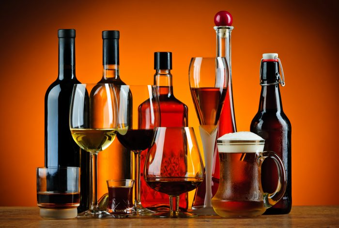 Various alcoholic beverages. (Photo courtesy Can Stock Photo Inc. / draghicich)
