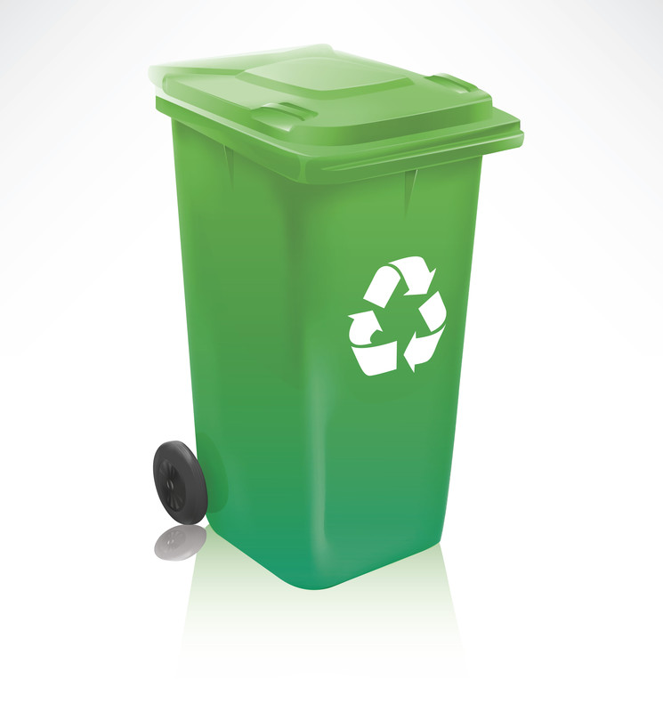 Photo of Green Bin courtesy of © Can Stock Photo Inc. / TheModernCanvas