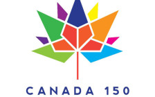 The official Canada 150 logo. (Courtesy Department of Canadian Heritage)