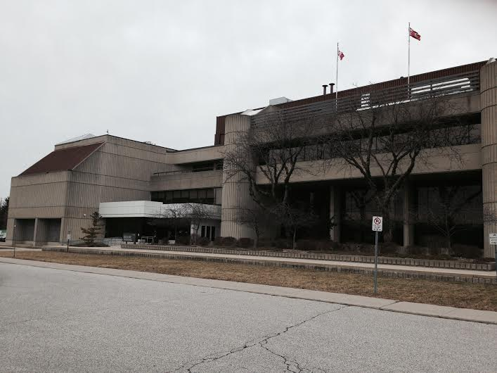 Chatham-Kent Courthouse. March 1, 2016. (Photo by Simon Crouch)