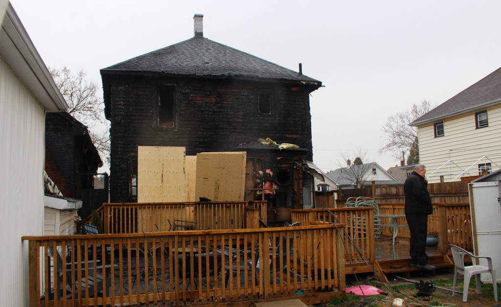 Hickory Fire Damage March 24