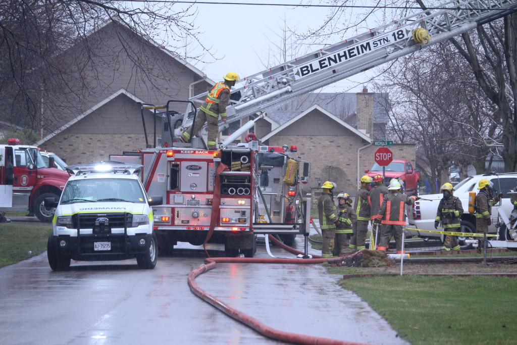 Blenheim House Fire 7
