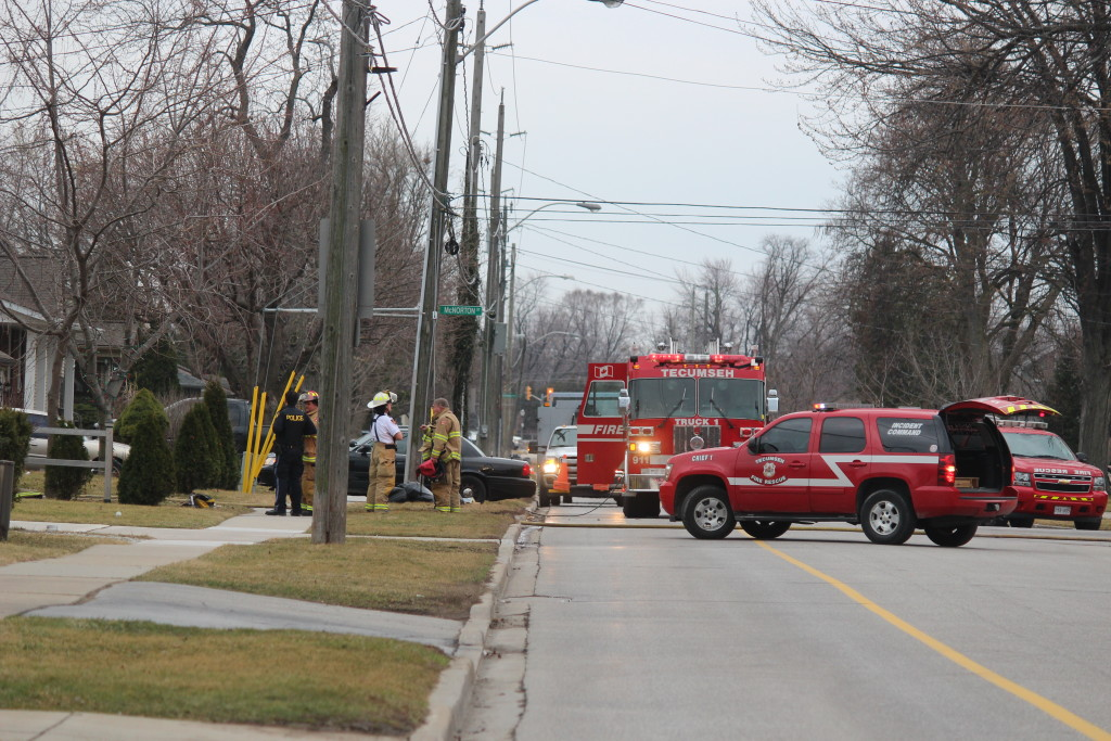 Fire On Lacasse In Tecumseh 1