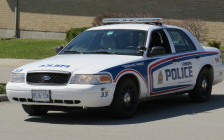 File photo of London police cruiser. Photo by Blackburn News.