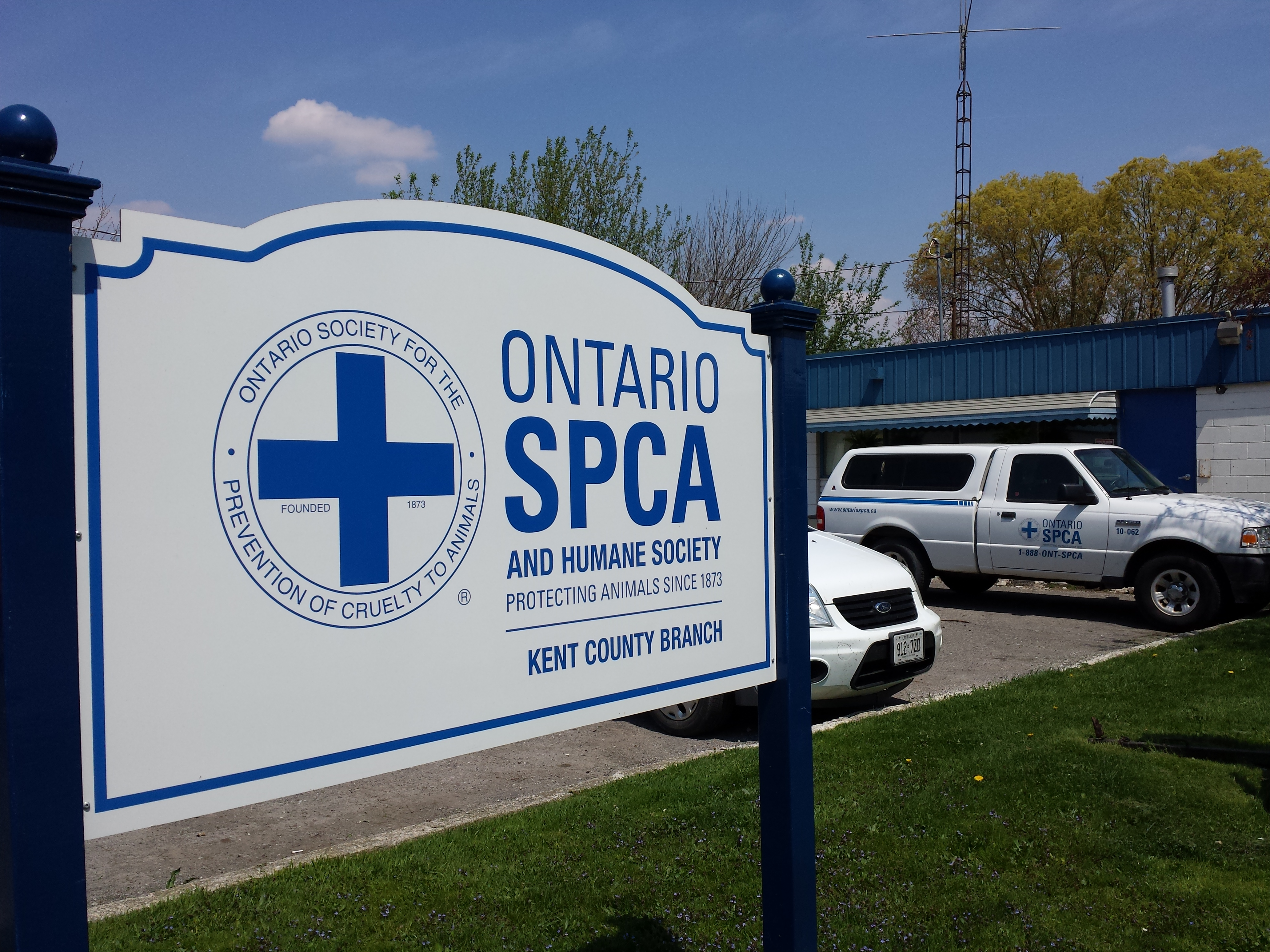 The OSPCA Kent Branch office in Chatham. (Photo submitted by Robyn Brady)