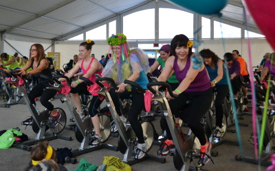 BlackburnNews com - Outdoor Spin Class To Help Strong Kids Campaign