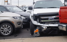 Five car pile-up on London Rd. at Lambton Mall Rd. April 28, 2016 (BlackburnNews.com Photo by Briana Carnegie)