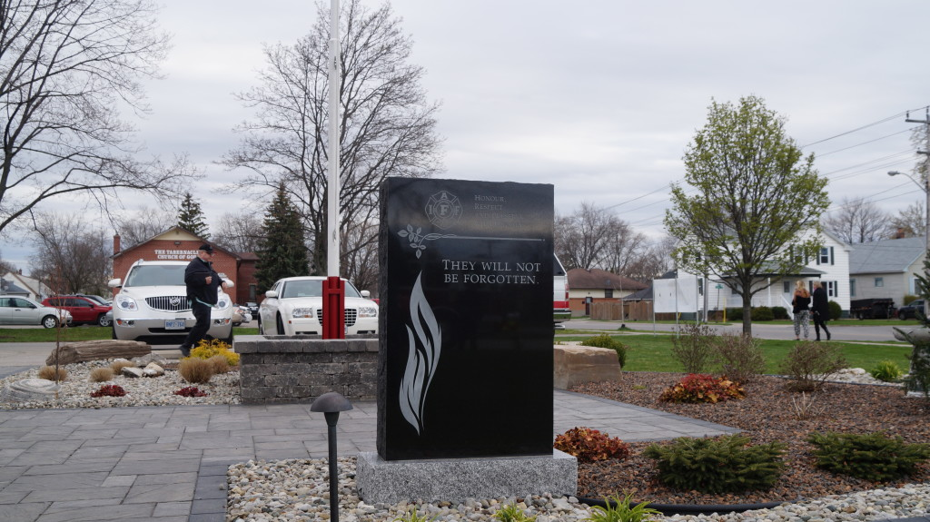 Firefighters' Memorial Garden