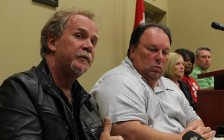Unifor Local 195 President Gerry Farnham and 2nd Vice-President Mike Renaud.