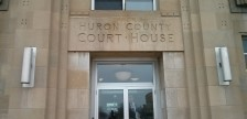 Huron County Courthouse in Goderich, Ontario.