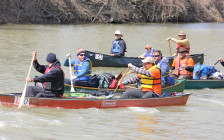 Sydenham River canoe Race submitted photo