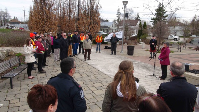 National Day Of Mourning Held In Owen Sound And Hanover