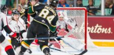 JJ. Piccinich of the London Knights. Photo by Terry Wilson / Aaron Bell / OHL Images.