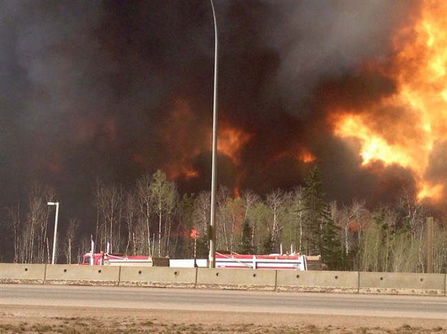 LIVE: Fort McMurray devastated by raging wildfire