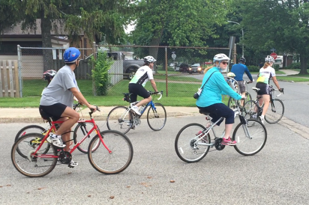 Study Finds Cyclists Love Windsor Riverfront