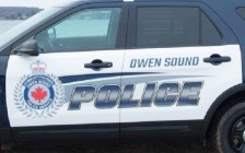 Owen Sound police vehicle #3 (new 2016)