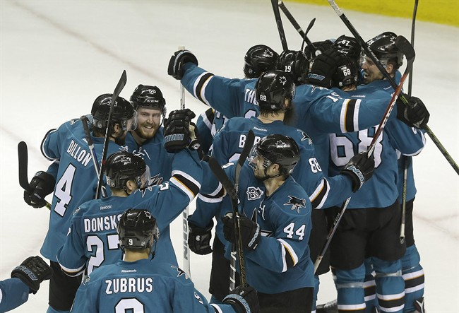 Sharks Head To 1st Cup Final After Win Over Blues