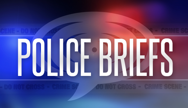 Police Briefs – Monday, March 19, 2018