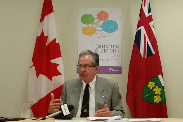 Agriculture Minister Addresses Stratford Youth Summit