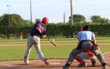 Sarnia braves in action during the 2016 season. Photo by Hayley Trigatti.