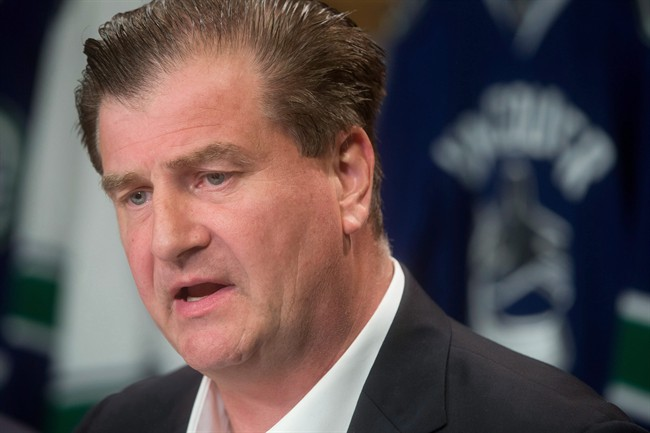 Canucks fined $50,000 for Benning comments