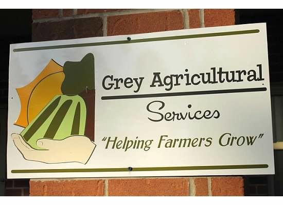 Grey Agricultural Services Sign