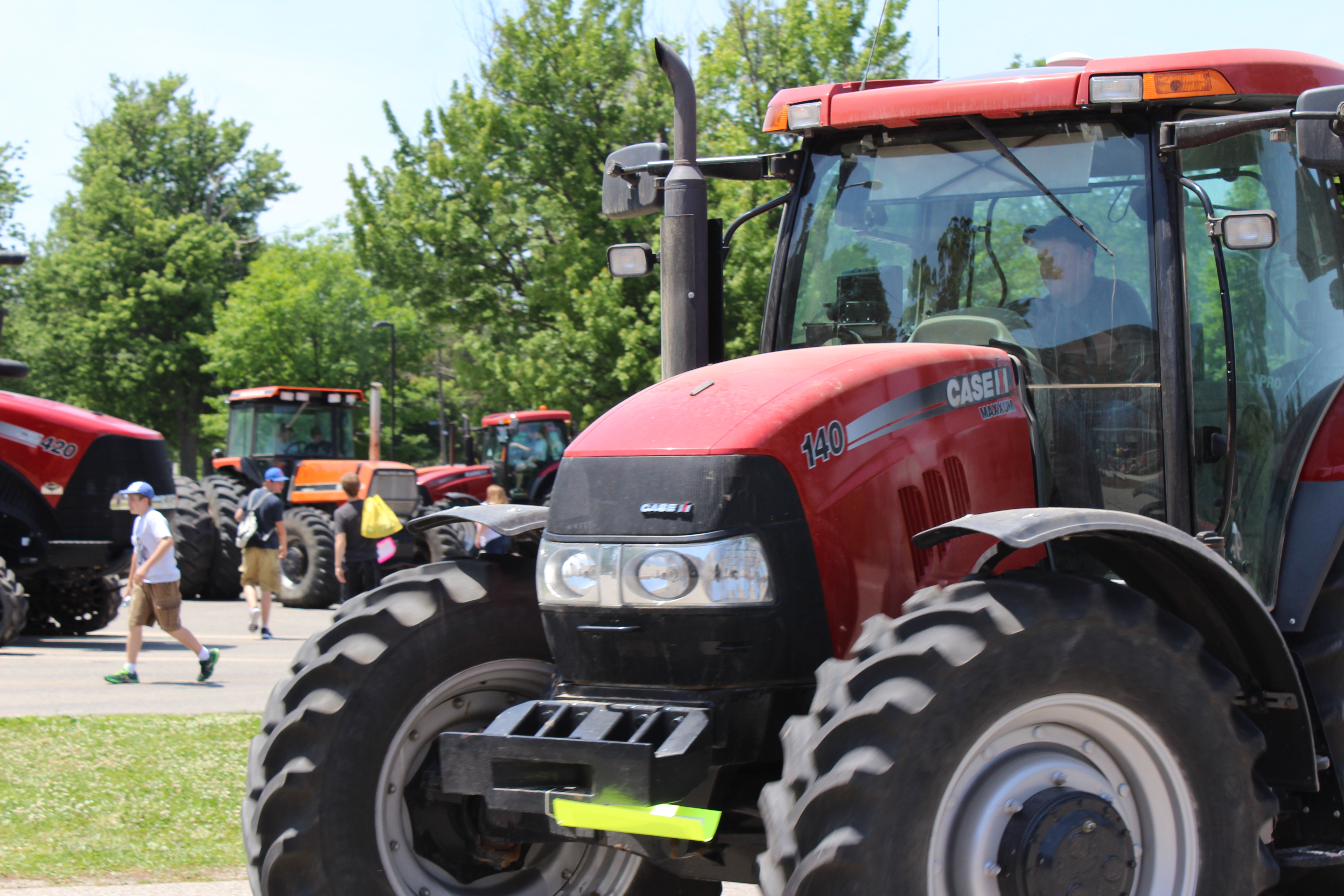 Dresden School Says Goodbye To Tractor Day