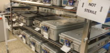 Materials to be sanitized pictured at Windsor Regional Hospital on June 23, 2016. (Photo by Ricardo Veneza)