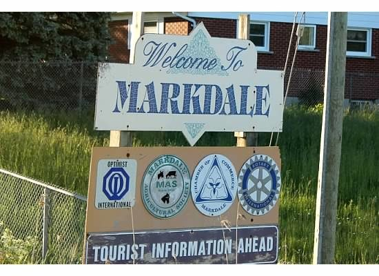 Markdale Sign