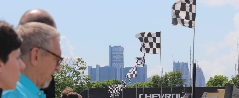 Chevrolet Detroit Belle Isle Grand Prix, June 5, 2016. (Photo by Adelle Loiselle)