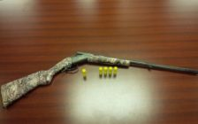 A shotgun and shells seized by London police. Photo provided by the London Police Service.
