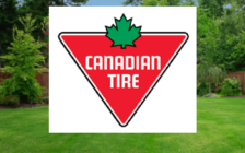 Canadian Tire logo and background