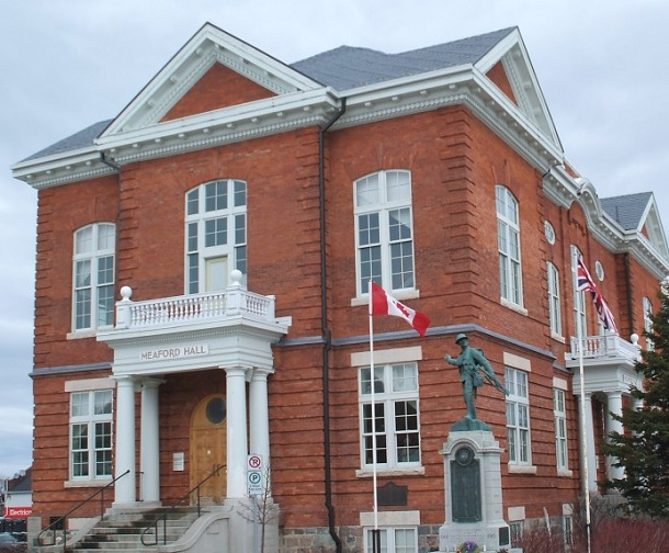 Meaford Hall Receives Canadian Heritage Funding