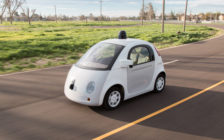 Google Self-Driving Prototype Vehicle. (Photo courtesy Google)