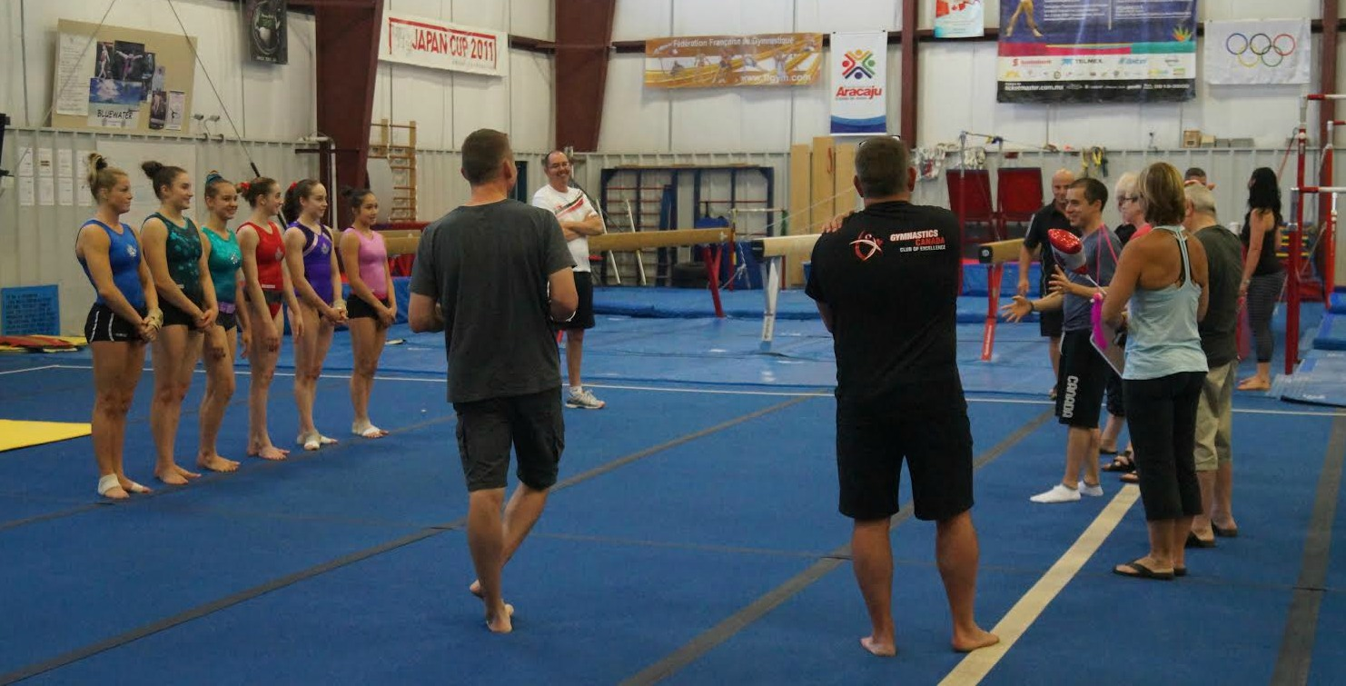 Gymnasts In Sarnia For Final Olympic Tune Up (Gallery)