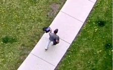 Police believe this man is responsible for a violent attack in Chatham. (Photo courtesy of Chatham-Kent police)