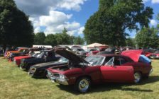 Thousands descend on Bothwell's Victoria Park for the annual Bothwell car show, August 6, 2016. (Photo by the Blackburn Radio Summer Patrol)