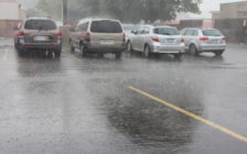 Heavy rain in Chatham. (File photo by Jake Kislinsky)