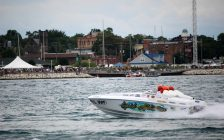 Powerboat Festival Aug. 14, 2016 (BlackburnNews.com photo by Dave Dentinger)