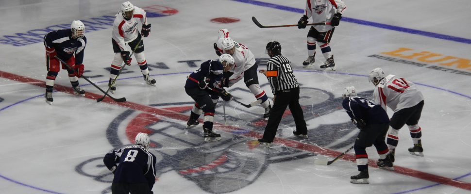 The Windsor Spitfires annual Blue and White game played at the WFCU Centre on August 31, 2016. (Photo by Ricardo Veneza)
