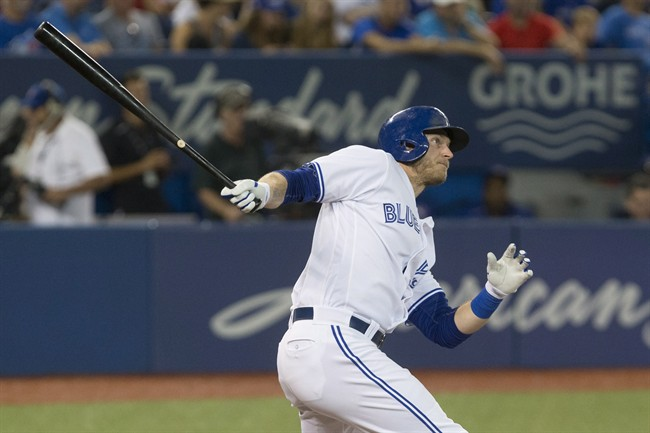 Martin, Dickey lead Blue Jays past Angels 7-2