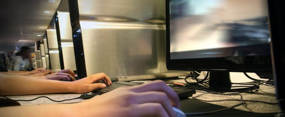 Computer gaming. (Photo courtesy © Can Stock Photo Inc. / mikdam)