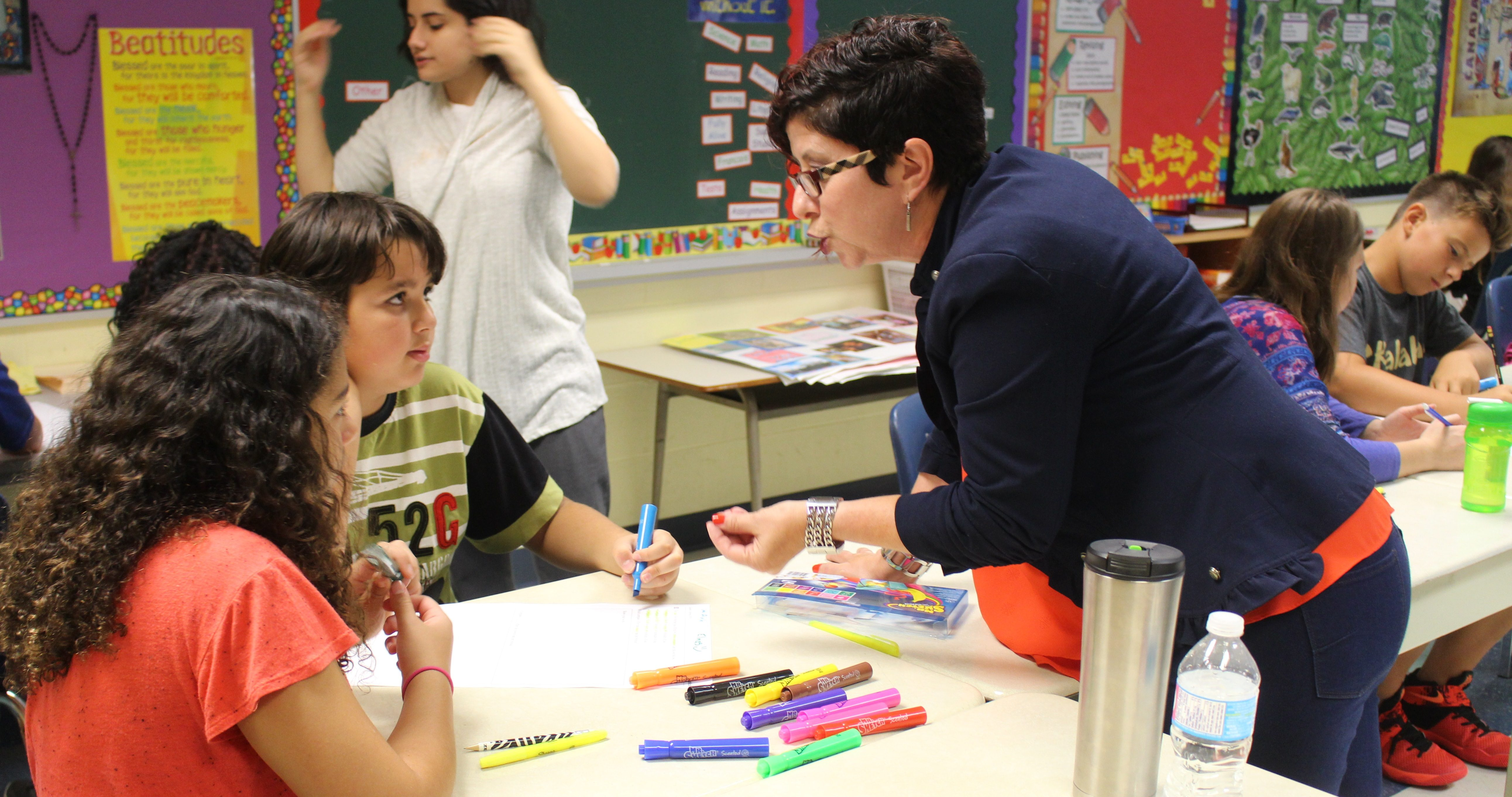 Catholic Board Continues Plan To Help Student Math Scores
