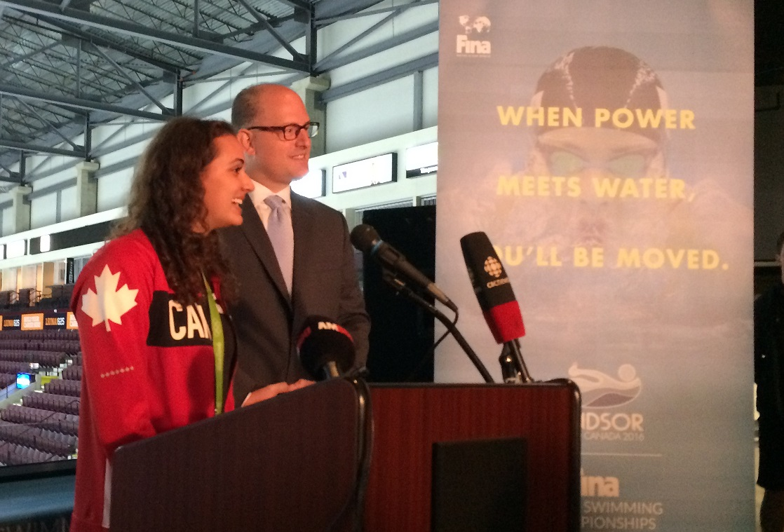 Masse, Team Canada Takes Bronze in FINA Mixed Medley