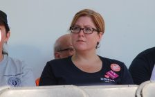 Essex MP Tracey Ramsey at the Labour Day Rally in Windsor, September 5, 2016. (Photo by Adelle Loiselle.)