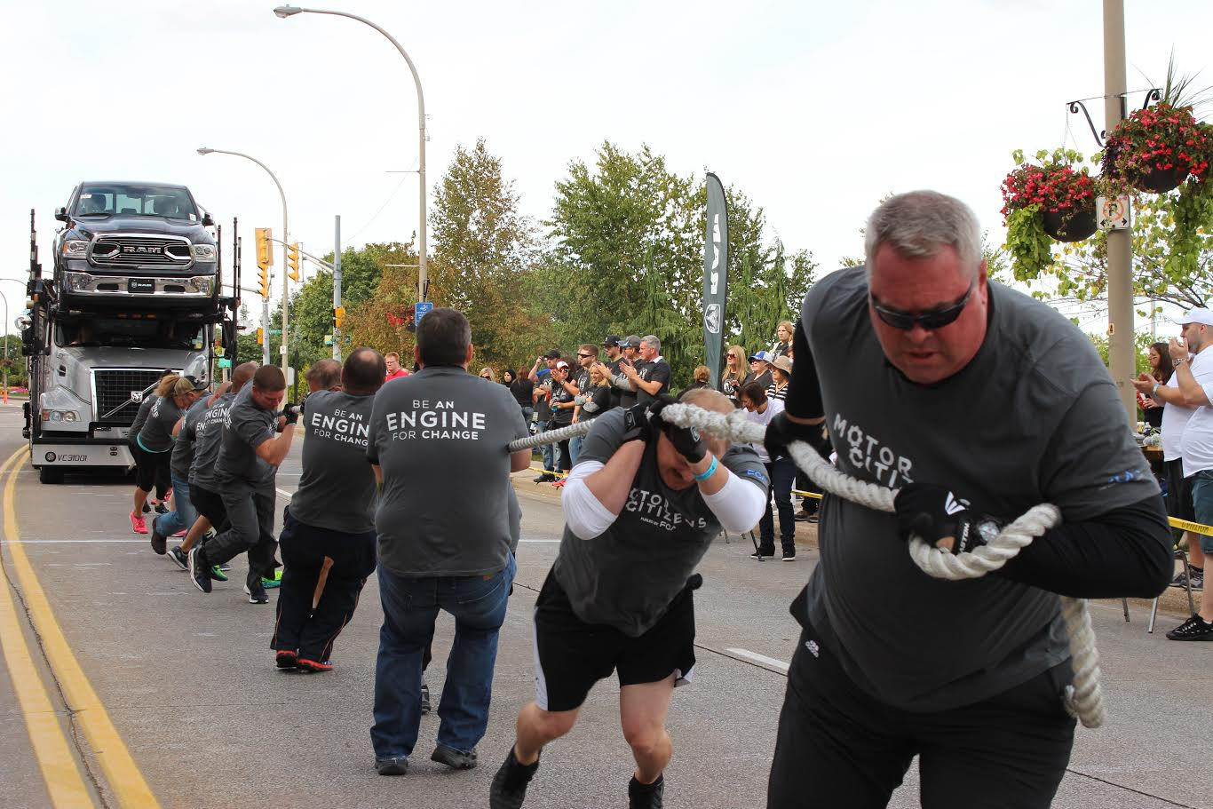 Who's Got 'Guts And Glory'? Truck Pull For United Way