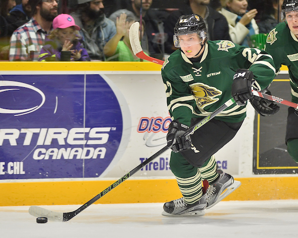Knights Beat 67s in Ottawa 4-2